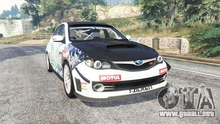 Subaru Impreza WRX STI Nakazato v1.2 [replace] para GTA 5
