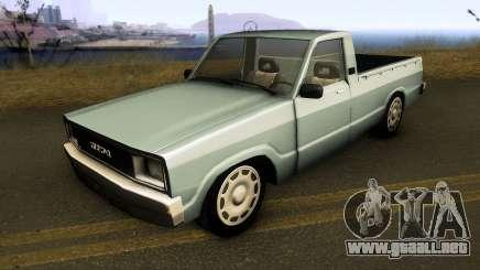 Mazda Vanet para GTA San Andreas