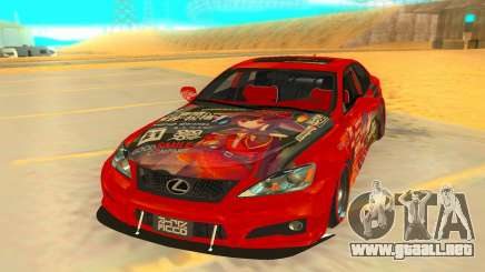 2009 Lexus ISF para GTA San Andreas