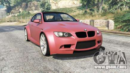 BMW M3 (E92) WideBody v1.2 [replace] para GTA 5
