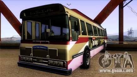 GTA IV Brute Bus para GTA San Andreas