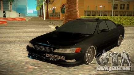 Toyota Mark 2 negro para GTA San Andreas