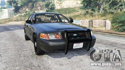 Ford Crown Victoria FBI v3.0 [replace] para GTA 5