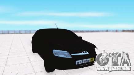 Lada Granta black para GTA San Andreas
