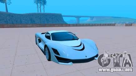 Grotti Turismo R Next Gen para GTA San Andreas