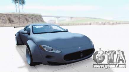 Maserati GranTurismo para GTA San Andreas