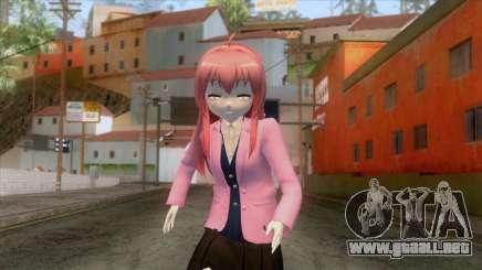 Yuru Yuri - Akaza Akane para GTA San Andreas