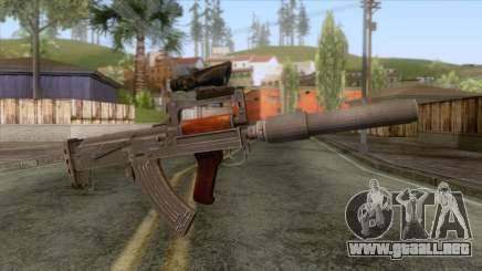 Playerunknown Battleground - OTs-14 Groza v6 para GTA San Andreas