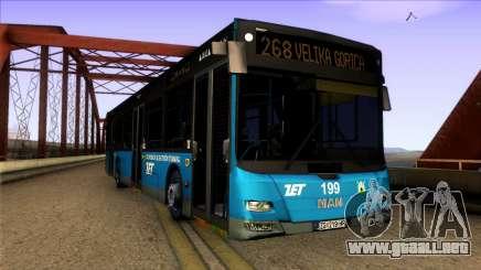 MAN Lions City ZET Croatian Bus para GTA San Andreas
