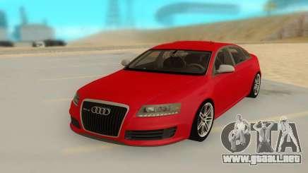AUDI RS 6 para GTA San Andreas