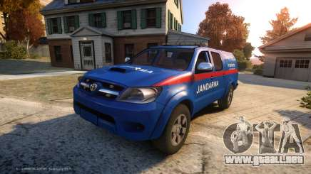 Toyota Hilux Jandarma Olay Yeri Inceleme para GTA 4