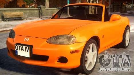 Mazda Miata MX 5 para GTA 4