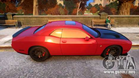 2015 Dodge Challenger SRT Hellcat v1.0 para GTA 4