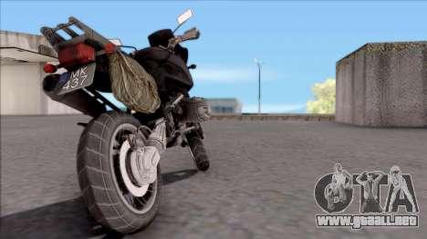 Motocicleta de juego PUBG para GTA San Andreas left