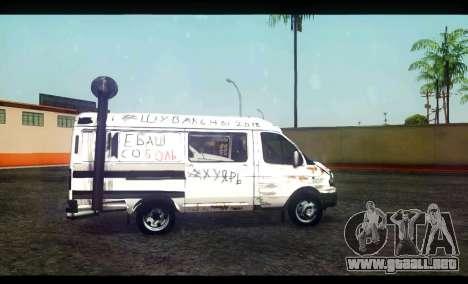 GAS 22172 Sable BC para GTA San Andreas left