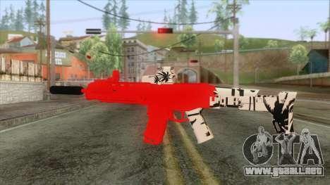M4 Roja de Trolencio para GTA San Andreas