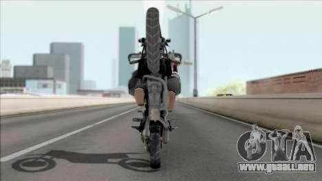Motocicleta de juego PUBG para visión interna GTA San Andreas