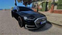 Audi A8 2017 D5 para GTA 4