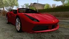 Ferrari 488 Spider para GTA San Andreas