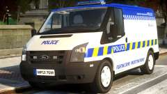 British Manchester Police Ford Transit para GTA 4