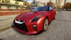 Nissan GTR 17 Premium para GTA 4