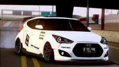 Hyundai Veloster Turbo Capruk Works Kit para GTA San Andreas