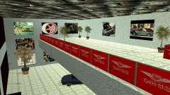 El concesionario QMGS V2 para GTA San Andreas