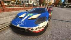 2016 Ford GT LM para GTA 4