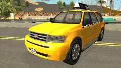 GTA V Vapid Taxi IVF para GTA San Andreas