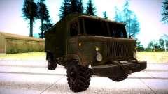 GAZ 66 Oliva para GTA San Andreas