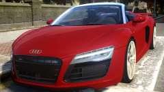 2014 Audi R8 V10 Plus Spyder v1.0