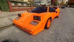 Lamborghini Countach LP400 S 1978 v1.0 para GTA 4
