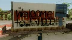 Felons Gang Environment and Graffiti para GTA San Andreas