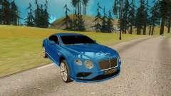 Bentley Continental G para GTA San Andreas