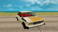 VAZ 2105 blanco para GTA San Andreas