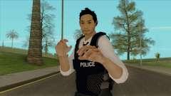Detective Kurosawa from Binary Domain para GTA San Andreas