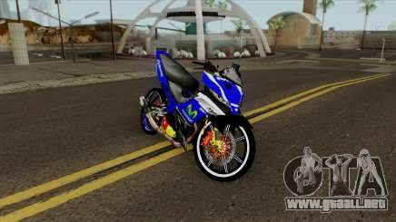 Yamaha 135LC V4 Movistar Singel Arm Pojet By Can para GTA San Andreas