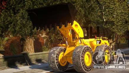CAT 994F Worlds Big Chains Wheel Loader 3.0 para GTA 4