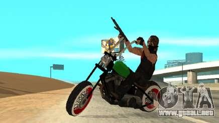 Freeway MFR Biker Gang Tuning Concept 180KmH para GTA San Andreas