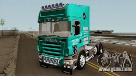 Scania R620 Petrorimau para GTA San Andreas
