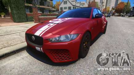 Jaguar XE SV Project 8 2017 v1.0 para GTA 4