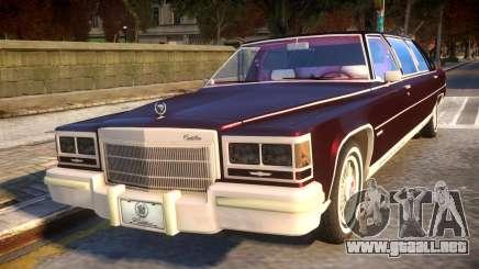 Cadillac Fleetwood Limousine 1985 para GTA 4