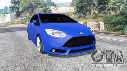 Ford Focus ST (C346) 2013 v1.1 [replace] para GTA 5