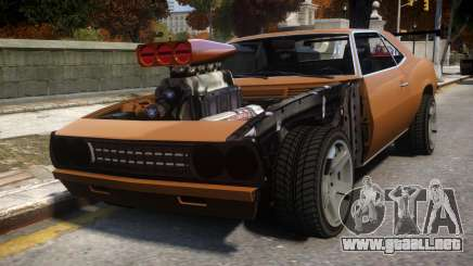 Vigero Drag Monster para GTA 4