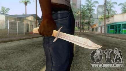 Dead Rising 2 - Bowie Knife para GTA San Andreas