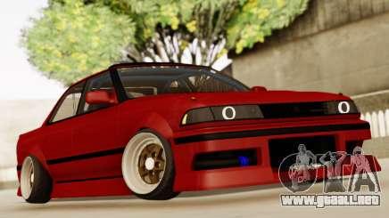 Toyota Mark 2 GX81 para GTA San Andreas