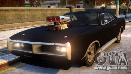 Dukes to Dodge Charger RT para GTA 4