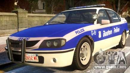 Declasse Merit Boston Police Department para GTA 4