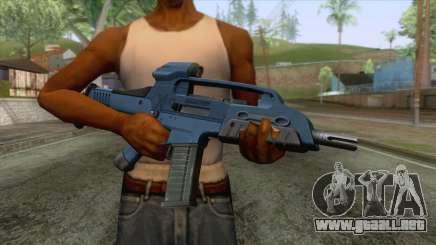 XM8 Compact Rifle Blue para GTA San Andreas