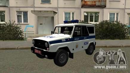 UAZ Policía de Minsk para GTA San Andreas
